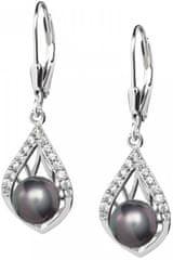 Preciosa Elegantní náušnice Touch of Luxury 5210 20 stříbro 925/1000