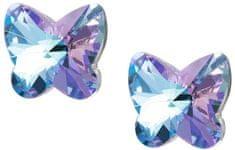 Preciosa Butterfly Harmony pillangó fülbevaló 6058 43 ezüst 925/1000