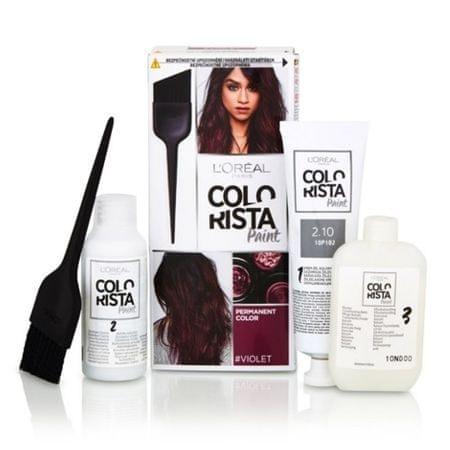 L'Oréal Trwały kolor włosów colorist Farby (cień Blueblack 2.10)
