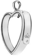 Hot Diamonds Přívěsek na elementy Anais Srdce EX009 stříbro 925/1000