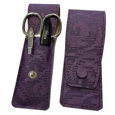 DuKaS Cestovná manikúrová súprava 3 dielna fialová PL893