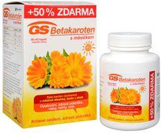 GreenSwan GS Betakarotén s nechtíkom 90 kapsúl + 45 kapsúl ZDARMA