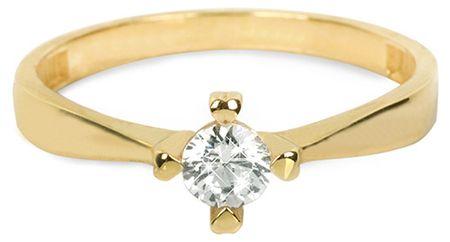 d59164e0e Brilio Zlatý zásnubný prsteň 226 001 01016 - 1,95 g (Obvod 55 mm ...