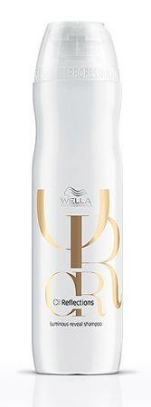 Wella Professional Oil Reflections ragyogást kölcsönző hidratáló sampon(Luminous Reveal Shampoo) (mennyiség 250 ml)