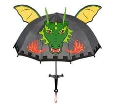 Blooming Brollies Detský palicový dáždnik Kido rable Knight and Dragon U0100KN