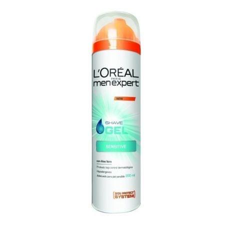 L'ORÉAL PARIS Hydratační gel na holení pro citlivou pleť Men Expert (Hydra Sensitive Shave Gel) 200 ml
