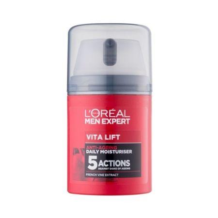 Loreal Paris Férfi hidratáló krém a fáradtság jeleivel szembenMen Expert (Vita Lift 5 daily Moisturiser) 50 ml