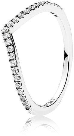 Pandora Csillogó ezüst gyűrű 196316CZ (áramkör 50 mm-es) ezüst 925/1000