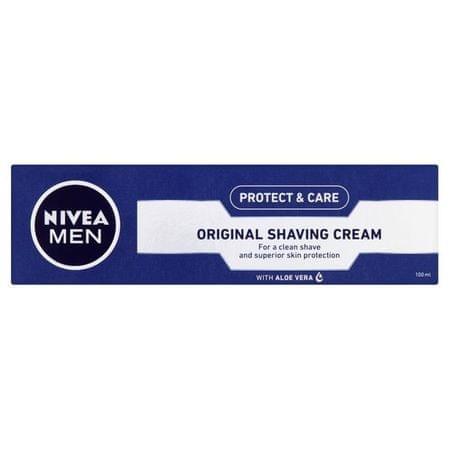 Nivea Krém na holenie Original (Mild Shaving Cream) 100 ml