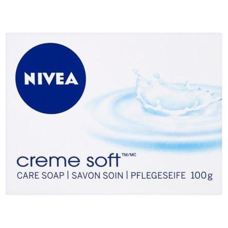 Nivea Krémové tuhé mydlo Creme Soft (Creme Soap) 100 g