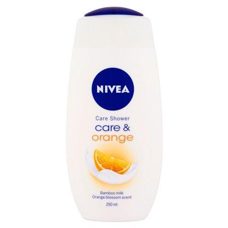 Nivea Ošetrujúci sprchový gél Care & Orange ( Care Shower Gel) 250 ml