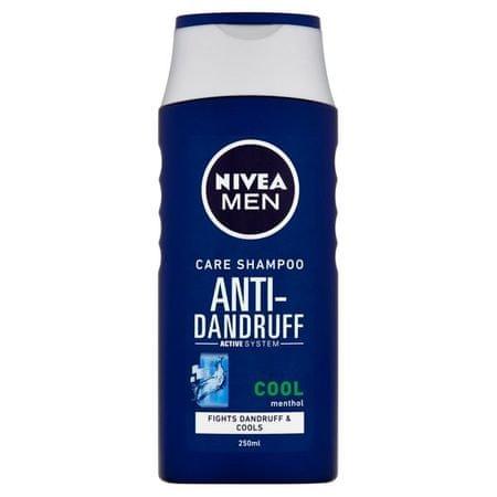 Nivea Ošetrujúci šampón proti lupinám pre mužov Cool (Anti Dandruff Shampoo) 250 ml