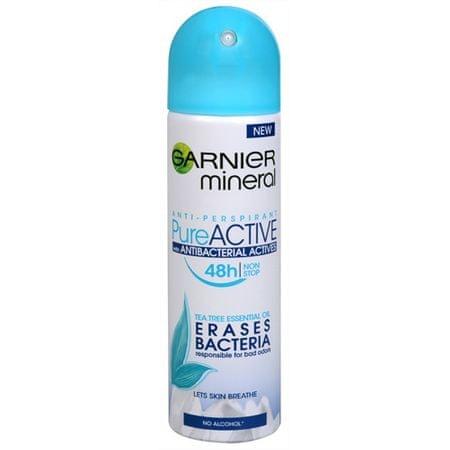 Garnier 48H Pure Active ásványi anyagokkal gazdagított dezodor 150 ml