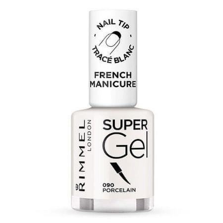 Rimmel Żel do paznokci polski francuski manicure (Super żel French Manicure) 12 ml (cień 092 Ivory Tower)