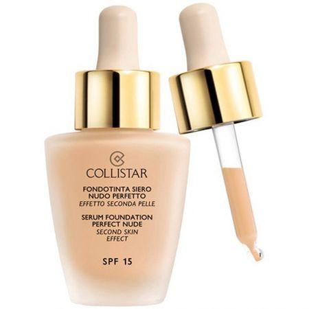 Collistar Tekutý make-up se sérem pro vzhled nahé pleti (Serum Foundation Perfect Nude) 30 ml (Odstín 00 Cameo