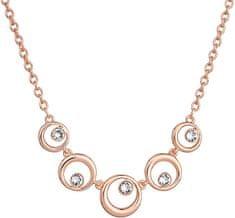Evolution Group Elegantní bronzový náhrdelník Shine Luxus 52013.1