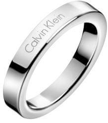 Calvin Klein Stalowy pierścień Hook KJ06MR0001 (obwód 52 mm)