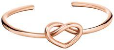 Calvin Klein Štýlový bronzový náramok Charming KJ6BPF1001