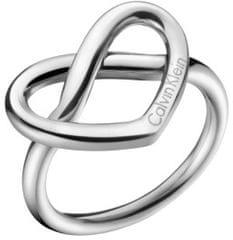 Calvin Klein Prstan v obliki srca CharmingKJ6BMR0001