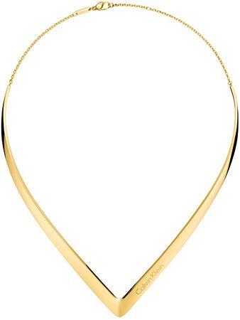 Calvin Klein Luksuzna pozlačena ogrlica OutlineKJ6VJJ100100