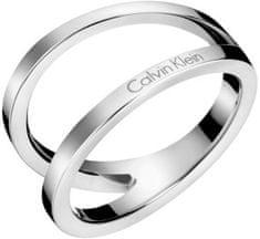 Calvin Klein Luxusný oceľový prsteň Outline KJ6VMR0001