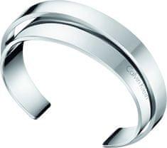 Calvin Klein Otevřený ocelový náramek Unite KJ5ZMF0001