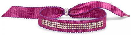 Oliver Weber Różowa bransoletka z kryształami Ocean Droll PIN 32176