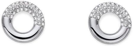 Oliver Weber Stylowe kolczyki z kryształami Ocean litego 22619