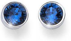 Oliver Weber Ocean Uno kék kristályos bedugós fülbevaló 22623 207