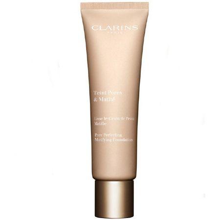 Clarins Teint Pores and Matite mattítófolyékony alapozó(Foundation) 30 ml (árnyalat 03 Nude Honey)