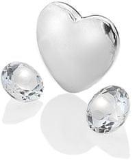 Hot Diamonds Element serce jasne topaz Anais kwietnia EX123 srebro 925/1000