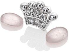 Hot Diamonds Element Korunka s ruženín Anais EX118 striebro 925/1000