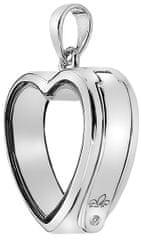 Hot Diamonds Elementy Anais wisiorek z brylantem serca EX001 srebro 925/1000