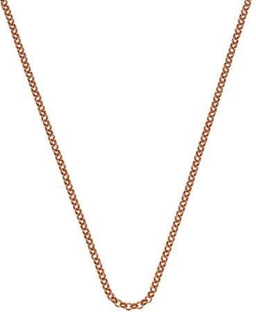 Hot Diamonds Roza pozlačena veriga Emozioni Belcher CH054 srebro 925/1000