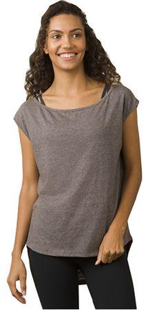Prana Dámske tričko Constance Top Moonrock (Veľkosť S)