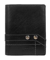 Lagen Czarny skórzany portfel 558 NC / T czarny