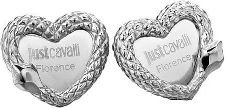 Just Cavalli Nemesacél szív fülbevaló JCER00090100