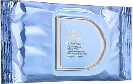 Estée Lauder Double Wear sminklemosó kendő(Long Wear Make Up Remover Wipes) 45 db