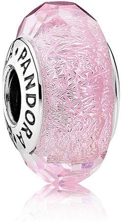 Pandora Romantična roza kroglica 791650 srebro 925/1000