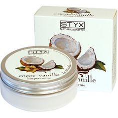 Styx Naturcosmetic Testápoló krém trópusi illattal (Cocos Vanille Body cream)