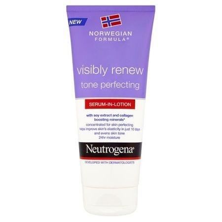 Neutrogena Zdokonaľujúce telové sérum Visibly Renew ( Body Serum) 200 ml