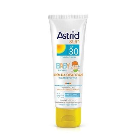 Astrid Sun napvédő krém gyerekeknek - arcra és testre SPF 30 75 ml