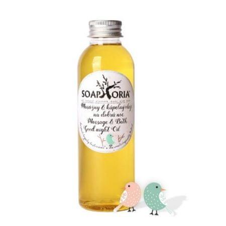 Soaphoria masaż organiczne i olejek do kąpieli Dobranoc Babyphoria (masa i w kąpieli olejowej Dobranoc) 150 ml