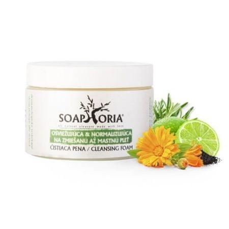 Soaphoria Frissítő és normalizáló tisztító hab a zsíros bőr kombinált és (arctisztító hab) 150 ml