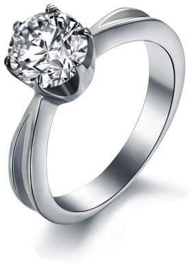 Troli Jeklen prstan s kristalom KRS-174 (Obseg 49 mm)