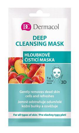 Dermacol Tekstilna maska (Gently Removes Dead Skin) 3D 1
