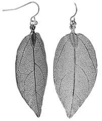 Troli kolczyki miedziane liści laurowych Laurel