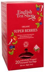 English Tea Shop Super ovocný čaj Rooibos a červené ovoce 20 pyramidek