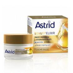Astrid Hydratačný denný krém proti vráskam s UV filtrami Beauty Elixir 50 ml