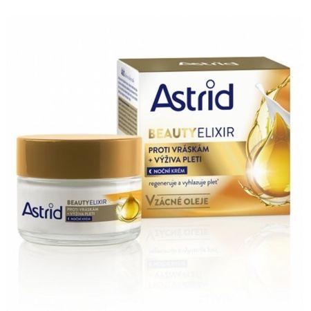 Astrid Vyživující noční krém proti vráskám Beauty Elixir 50 ml
